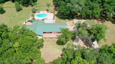 Citrus County Single Family Home For Sale: 10901 S Pleasant Grove Road
