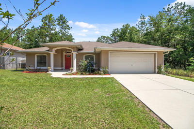 Ocala Single Family Home For Sale: 15649 SW 38th Street Road