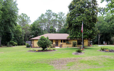 Dunnellon Single Family Home For Sale: 7984 SW 181st Circle