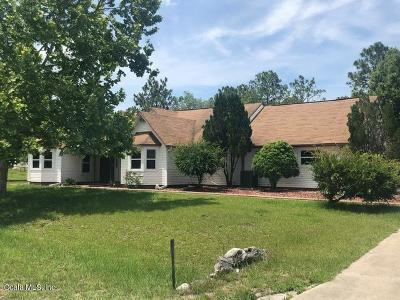 Dunnellon Single Family Home For Sale: 13005 SW 100th Lane