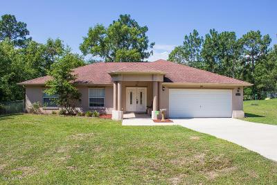 Ocala Single Family Home For Sale: 7043 Hemlock Course