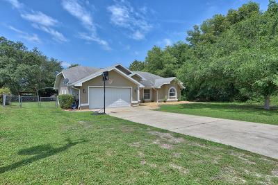 Ocala Single Family Home For Sale: 6004 SW 112th Place Road