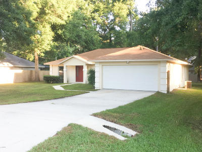 Ocala Single Family Home For Sale: 6402 Hemlock Road