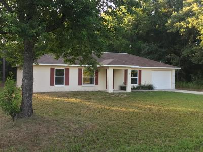 Ocala Single Family Home For Sale: 5 Dogwood Drive Trail