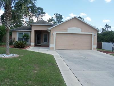 Ocala Single Family Home For Sale: 2758 SW 161 Lane
