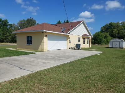 Ocala Single Family Home For Sale: 213 Locust Pass Trace