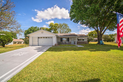 Summerfield FL Single Family Home For Sale: $163,900
