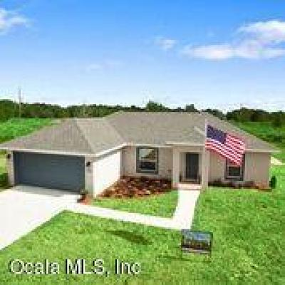 Ocala Single Family Home For Sale: 110 Juniper Loop Circle