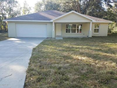 Summerfield Single Family Home For Sale: 8260 SE 158 Street