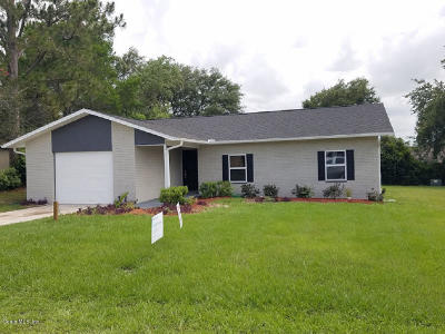 Ocala Single Family Home For Sale: 23 Sapphire Way