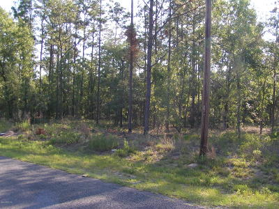 Dunnellon Residential Lots & Land For Sale: Lots 59/60 SW Ridgewood Road