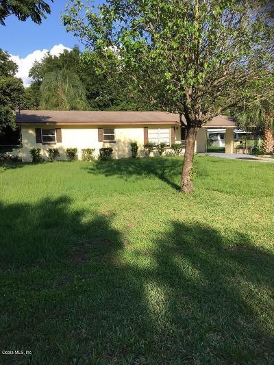Ocala Single Family Home For Sale: 3409 NE 16 Avenue