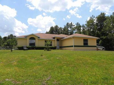 Williston FL Single Family Home For Sale: $297,000