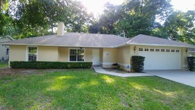 Ocala Single Family Home For Sale: 4136 NE 18th Terrace