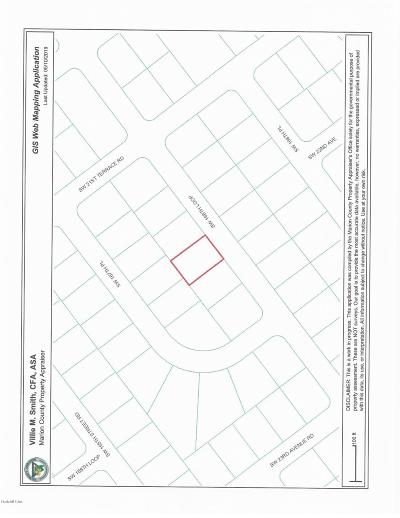 Ocala FL Residential Lots & Land For Sale: $2,500