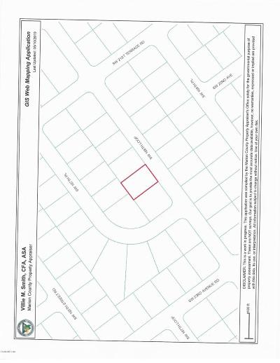 Ocala FL Residential Lots & Land For Sale: $4,000