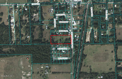 Anthony Residential Lots & Land For Sale: 12810 NE Jacksonville Road