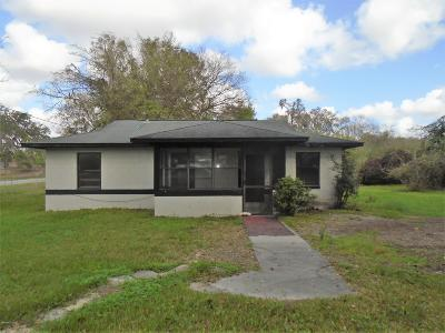 Dunnellon Single Family Home For Sale: 19991 SW 111 Place