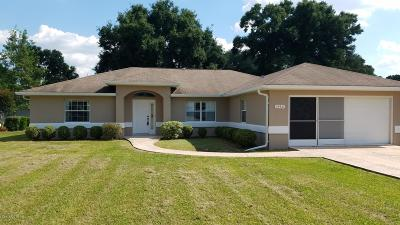 Ocala Single Family Home For Sale: 7450 SW 106 Street