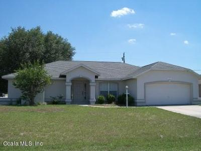 Ocala Single Family Home For Sale: 4522 SW 132nd Street