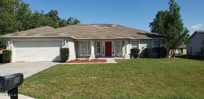 Ocala Single Family Home For Sale: 14 Hemlock Place