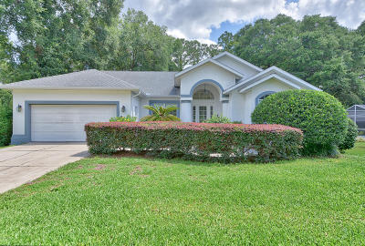 Dunnellon Single Family Home For Sale: 9641 SW 194th Circle