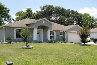 Marion County Single Family Home For Sale: 11560 SW 50th Circle