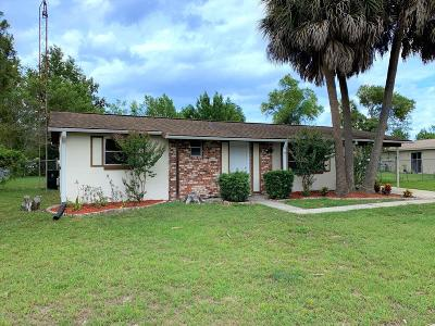Ocala Single Family Home For Sale: 14460 SW 41 Avenue Road