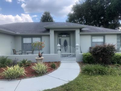 Ocala Single Family Home For Sale: 4716 NW 34th Place