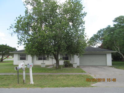 Marion County Single Family Home For Sale: 3814 SW 143rd Lane Road Road