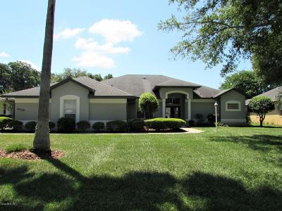 Dunnellon Single Family Home For Sale: 19558 SW 86 Lane