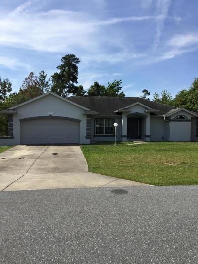 Ocala Rental For Rent: 2850 SW 146 Pl Road