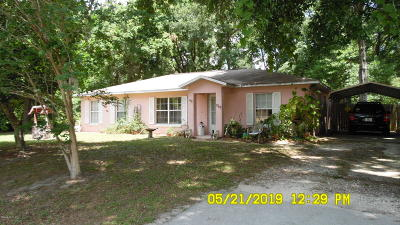 Single Family Home For Sale: 7545 SW 80 Place Place