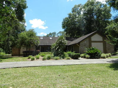Ocala Single Family Home For Sale: 1980 SE 88 Street