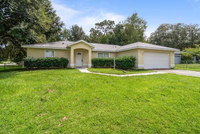 Ocala Single Family Home For Sale: 9 Pine Pass Court