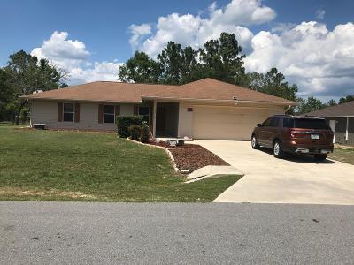 Ocala Single Family Home For Sale: 43 Pecan Run Course