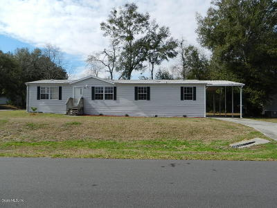 Ocala Mobile/Manufactured For Sale: 8782 SW 66th Terrace