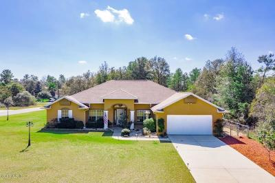 Marion Oaks North, Marion Oaks Rnc, Marion Oaks South Single Family Home For Sale: 4378 SW 169th Place