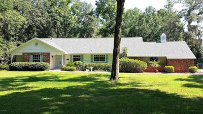 Ocala Single Family Home For Sale: 8141 NW 43 Lane