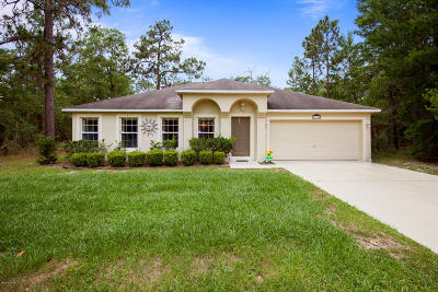 Marion Oaks North, Marion Oaks Rnc, Marion Oaks South Single Family Home For Sale: 13174 SW 63rd Terrace