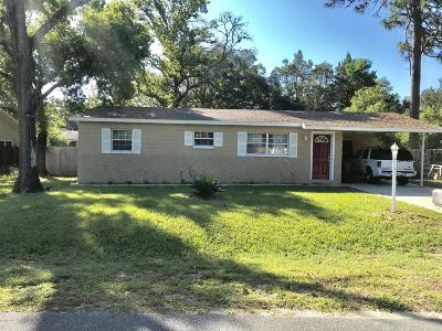 Ocala Single Family Home For Sale: 9319 Pine Lane