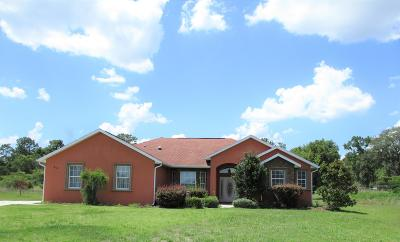 Ocala Single Family Home For Sale: 210 NW 113th Circle