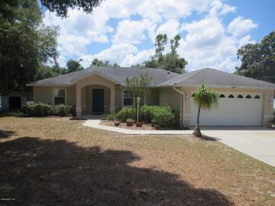 Ocklawaha Single Family Home Pending: 16906 SE 63rd Lane