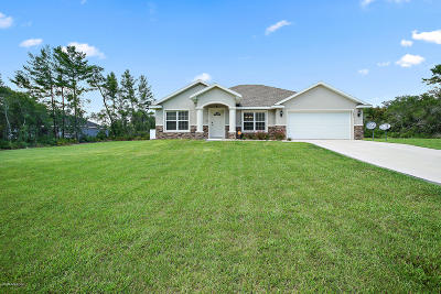 Ocala Single Family Home For Sale: 3885 SW 114th Place