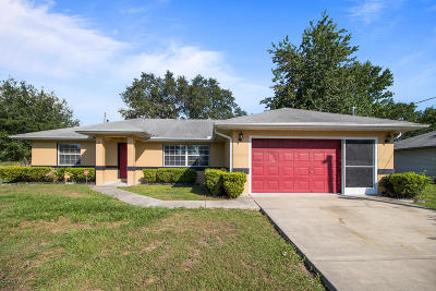 Ocala Single Family Home For Sale: 52 Banyan Drive