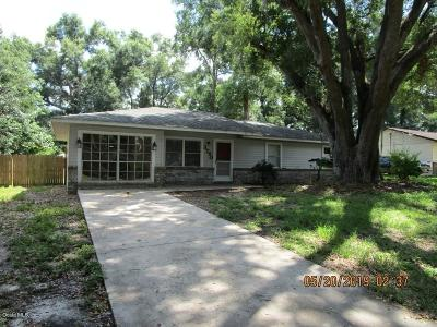 Ocala Single Family Home For Sale: 3750 SE 66th Place
