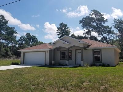 Ocala Single Family Home For Sale: 16811 SW 39th Circle