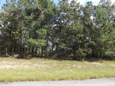 Ocala Residential Lots & Land For Sale: SW 60th Terrace