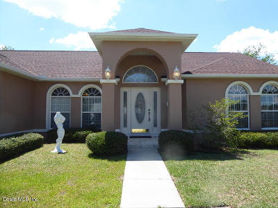 Ocala Single Family Home For Sale: 8 Hickory Loop Terrace