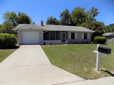 Ocala Single Family Home For Sale: 2842 NE 18th Court